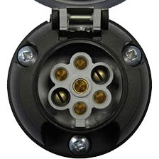 7 Pin 12(S) Electrical Socket