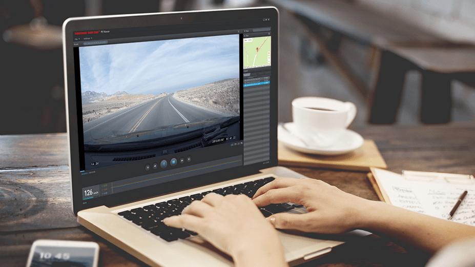 Thinkware F770 Video Viewer