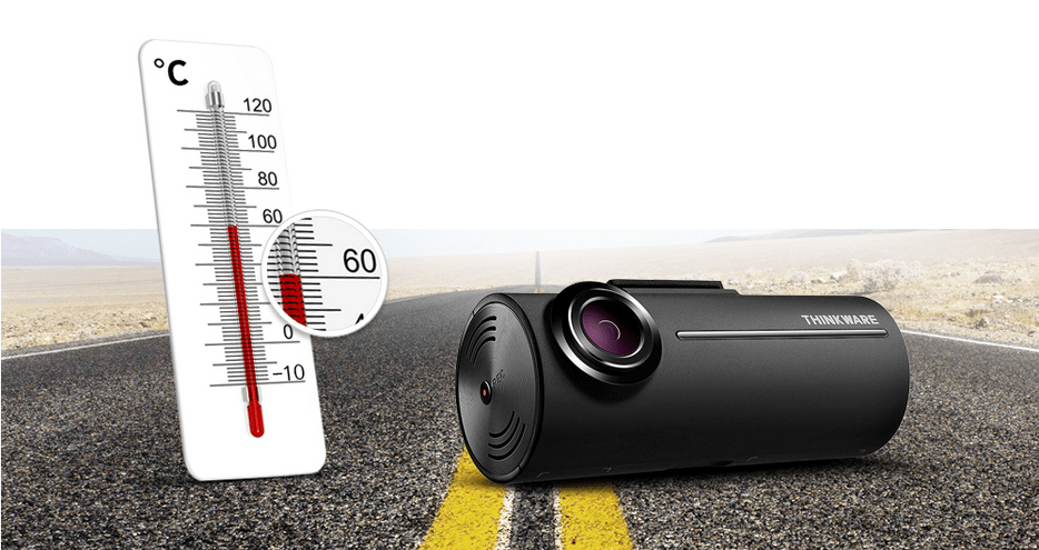 Thinkware F100 Dash Cam High Temperature Protection System