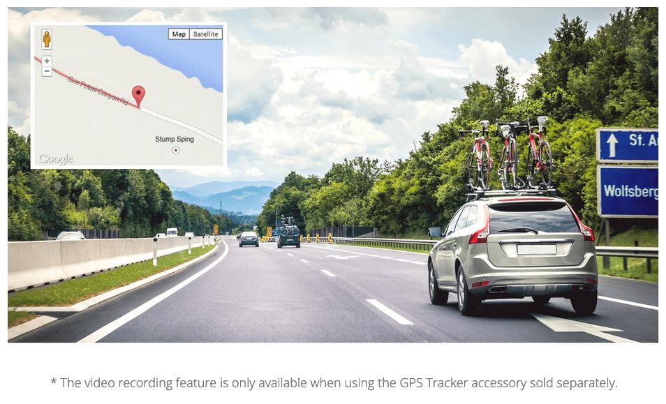 Thinkware F70 GPS Driving Information