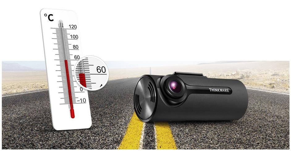 Thinkware F70 Dash Cam High Temperature protection