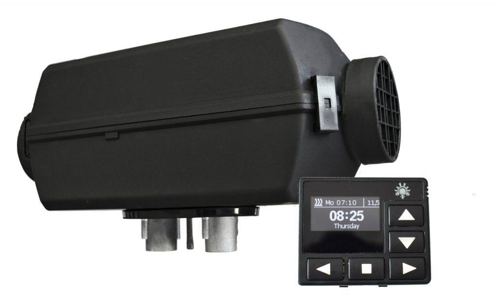 Planar Air Heater