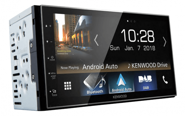 Kenwood DMX7018DABS - android auto