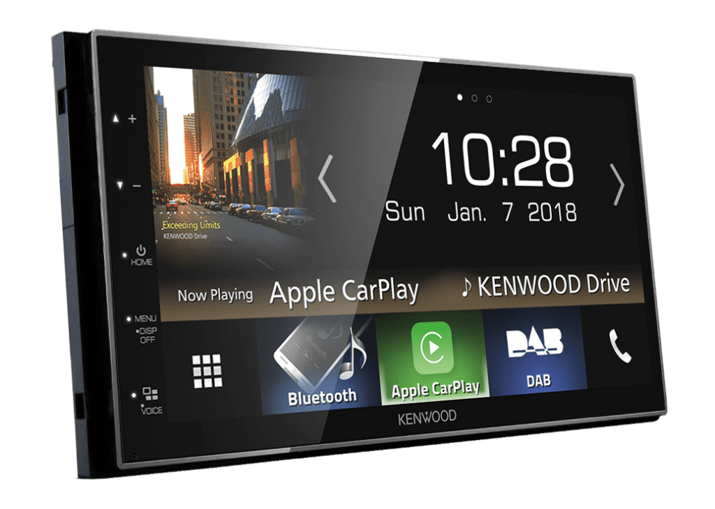 Kenwood DMX7018DABS - apple car play