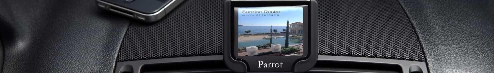 Parrot bluetooth car kit screen