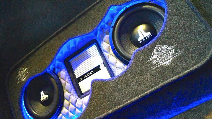 Custom Van Audio Enclosure