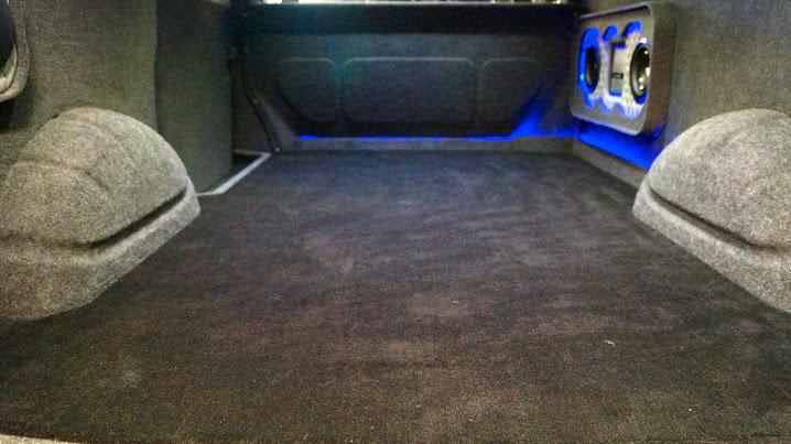 Custom van flooring