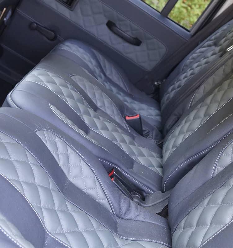 Quilted custom interior