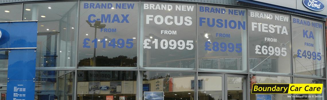 car sales graphics